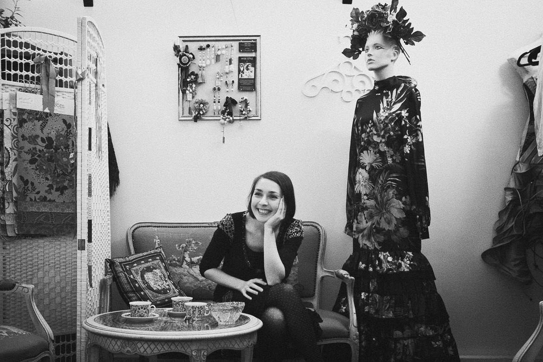 Wedding makers portraits by Jaan Sokk Photography: Triin Kärblane / NYMF Fashion Studio