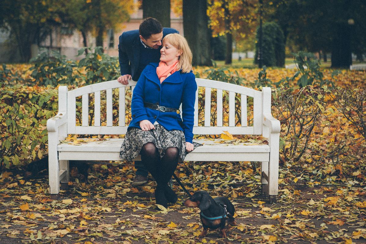 Engagement shoot with daxhounds - sokkphoto.com
