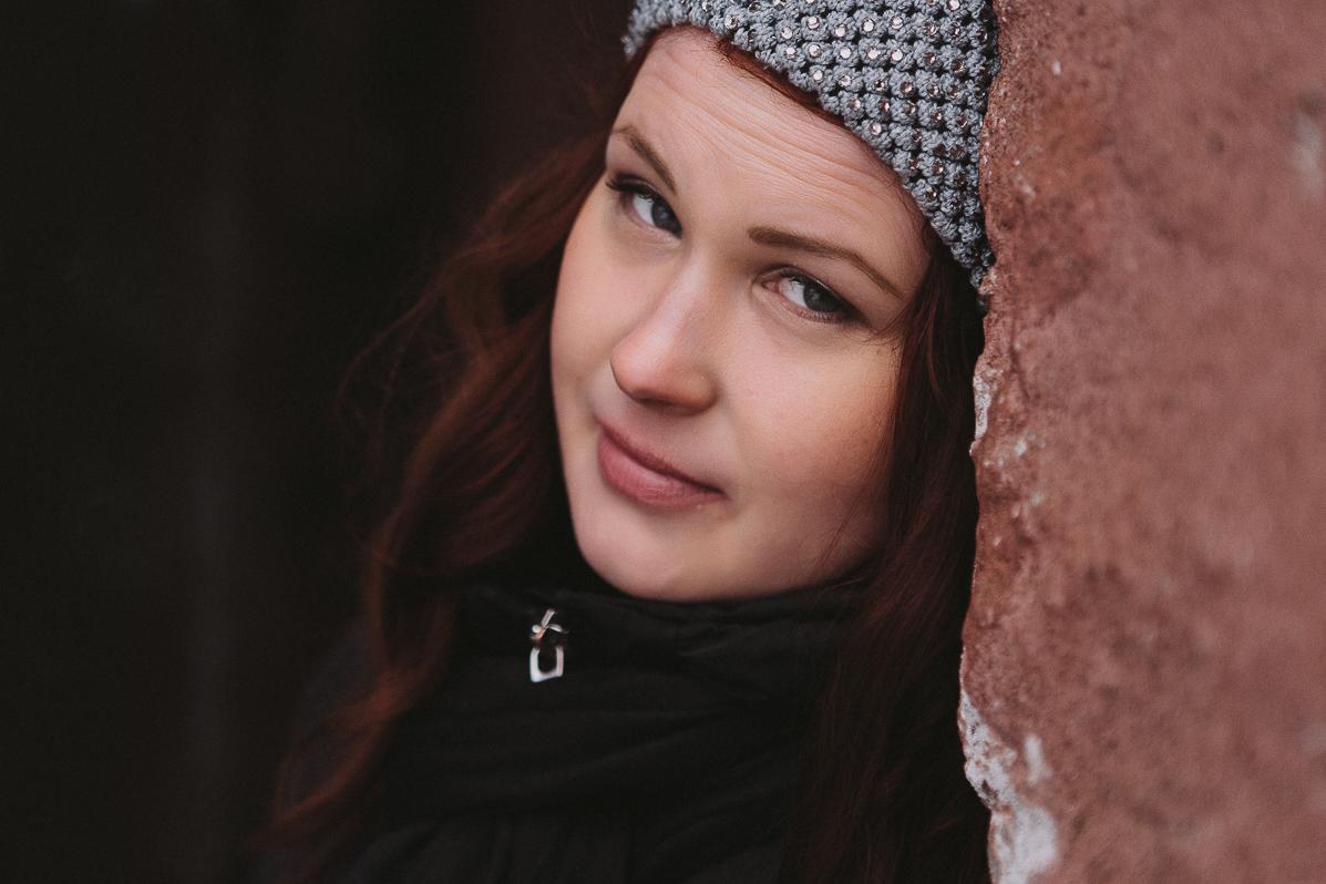 Engagement photo shoot at Suomenlinna